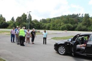 Sicherheitstraining PKW für ältere Farerinnen und Fahrer