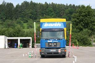 LKW Sicherheitstraining Verkehrswacht Zollernalbkreis e.V.