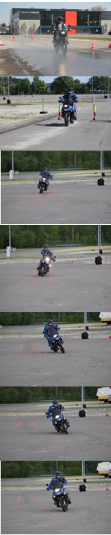 Verkehrswacht Sicherheitstraining Motorrad